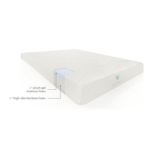 "Wellsville - 8"" Gel Memory Foam"