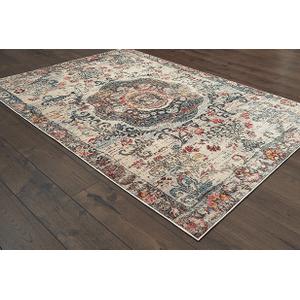 Oriental Weavers Usa, Inc. - 8 X 11  ORIENT PANDORA AREA RUG    (047H7,92015)