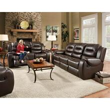 Jamestown Umber Reclining Sofa and Loveseat