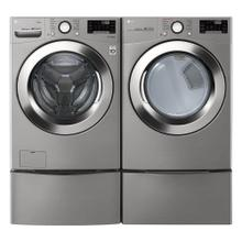 LG 4.5 cu.ft. High Efficiency Large Smart Front Load Washer with Steam and Wi-Fi Enabled