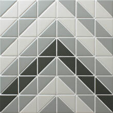 Chino Hill Chevron 2 Triangle Geometric Tiles Wall