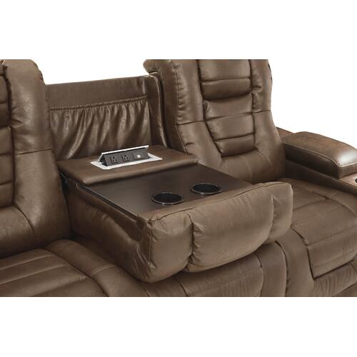 Owner's Box Power Reclining Sofa and Loveseat Thyme
