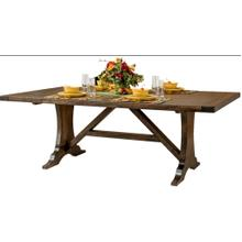 See Details - Amish made Westin  42 x 66 solid maple table