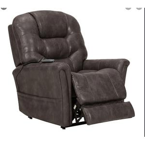 Warehouse M - Canyon Walnut Power Lift Chair Recliner w/ Power Headrest & 3 Zone Heat     (WARE-433-WALNUT,45021)