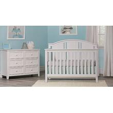 Anaheim 4 in 1 Lifetime Crib White or Gray