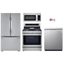 LG Package with Counter Depth Refrigerator