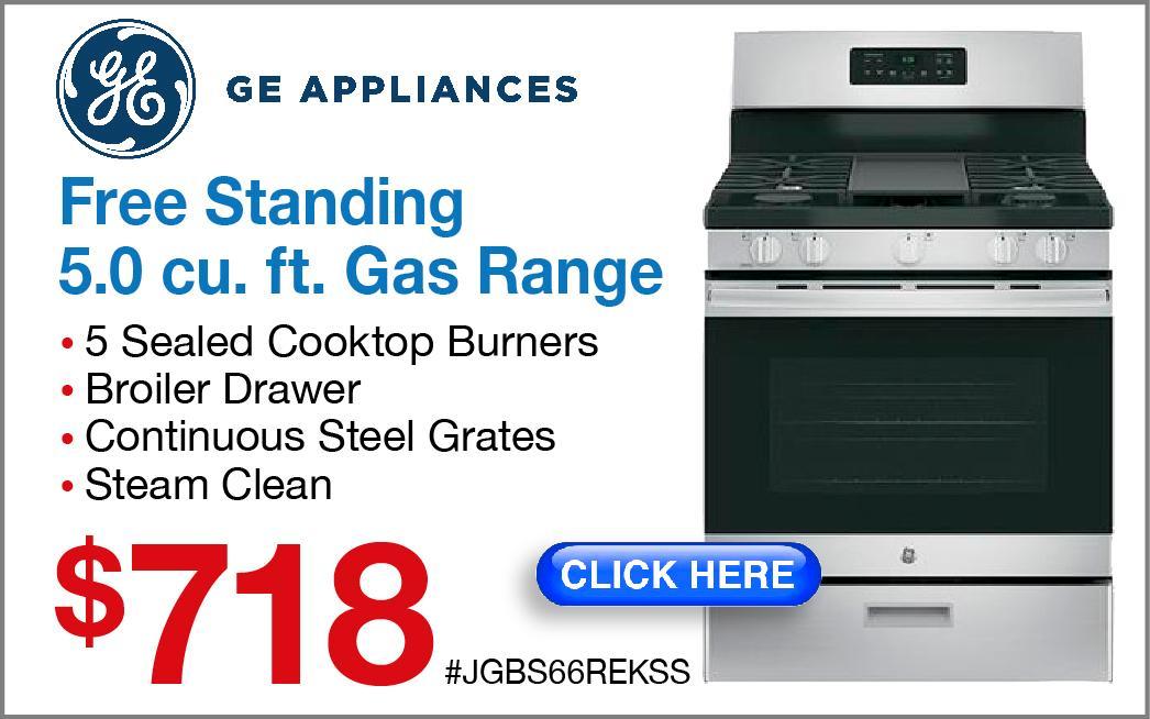 GE Gas Range