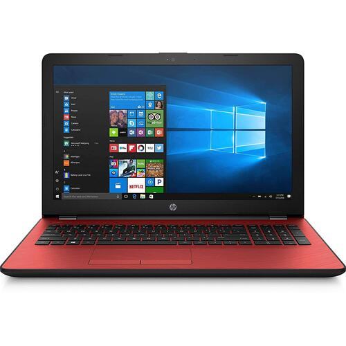 "Red 15.6"" Laptop - 4GB Memory - 500 GB Hard Drive"