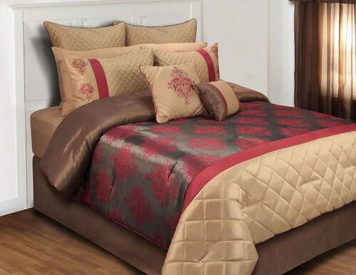 Monarch Comforter Set King 8pc & Queen 8pc