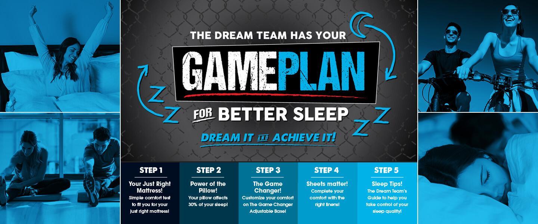 Game Plan For Better Sleep!