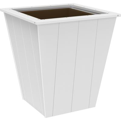 "Elite Planter 26"" White"