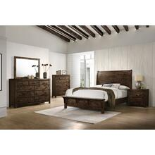 See Details - 4-PC Bedroom Suite: Queen Bed, Dresser, Mirror & (1) Nightstand: Add $100 For King-Sizes