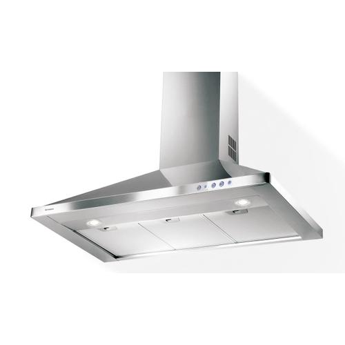 Faber CLAS30SS Stainless Steel Wall Canopy Range Hood, 600 CFM Pro Motor, 30-Inch