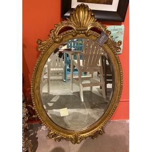 Henredon Oval Mirror