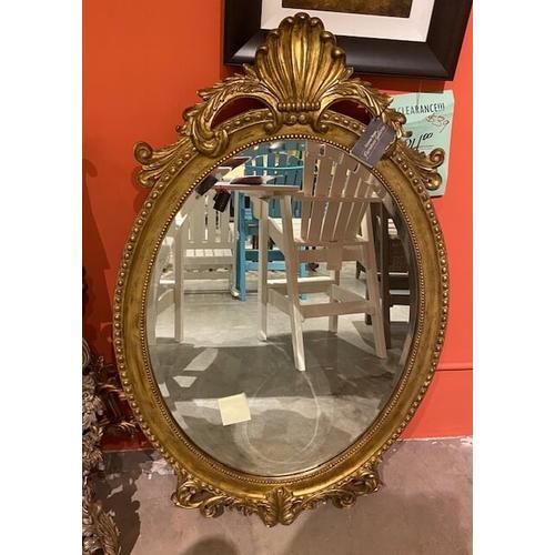Henredon Furniture - Henredon Oval Mirror