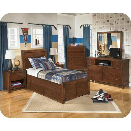 Ashley Furniture - Ashley B362 Delburne Bedroom set Houston Texas USA Aztec Furniture