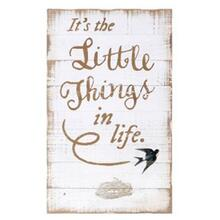 TY Songbird Inspirational Wall Decors - Little Things in Life