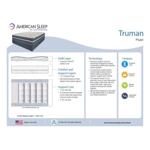 American Sleep - Truman - Plush