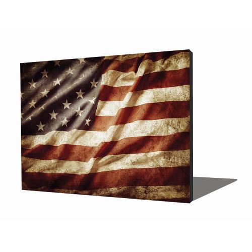 Wall Art - American Flag
