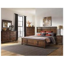 Wolf Creek King Panel Bed