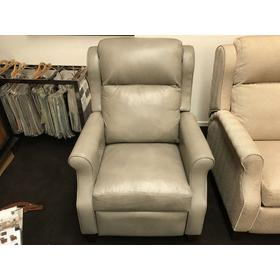 "Nouveau Power High Leg Recliner with Power Headrest and Lumbar Support; 33""Wx42""Dx44""H"