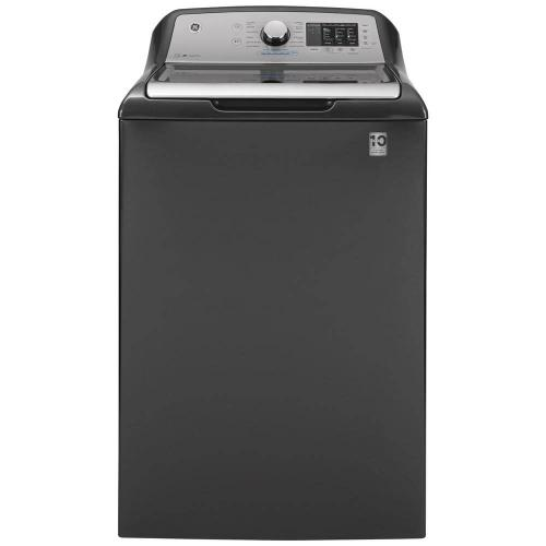 GE Appliances - 4.6 cu. ft. High-Efficiency Top Load Washing Machine with POD Dispenser, ENERGY STAR 7.4 cu. ft. 240-Volt Electric Vented Dryer, ENERGY STAR