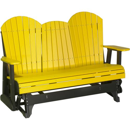Adirondack Glider 5' Yellow and Black