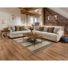 See Details - Ana White Linen Sofa & Loveseat
