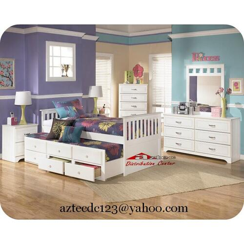 Ashley Furniture - Ashley B102 Lulu Bedroom set Houston Texas USA Aztec Furniture