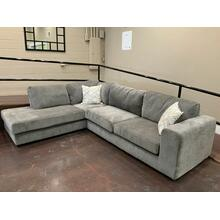 See Details - Grey Sectional