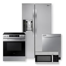 Stainless Steel 26 cu.ft. Side-By-Side Refrigerator  Package