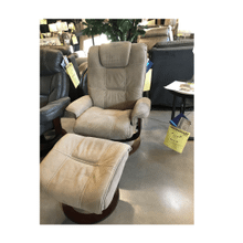Spencer Swivel Recliner w/Ottoman 942-12