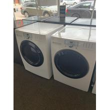 Refurbished White Electric Kenmore Washer Dryer Set. Please call store if you would like additional pictures. This set carries our 6 month warranty, MANUFACTURER WARRANTY AND REBATES ARE NOT VALID (Sold only as a set)