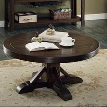 See Details - Gettysburg Round Cocktail Table