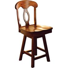 Wilmington Amish Custom Counter / Bar Swivel Stool