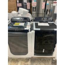5.2 cu. ft. activewash™ Top Load Washer & 7.4 cu. ft. Electric Dryer with Steam in Black Stainless, ENERGY STAR **OPEN BOX SET** West Des Moines Location