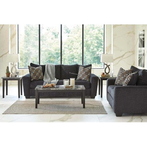 Ashley 570 Wixon Slate Sofa and Love