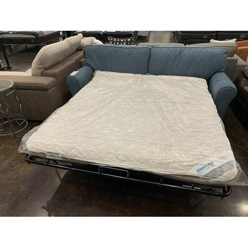 Best Home Furnishings - Queen Memory Foam Sofa Sleeper