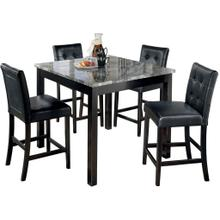 Maysville Counter Height Dining Room Table and Bar Stools