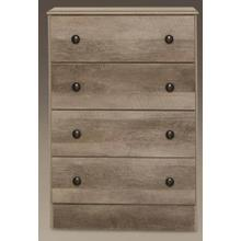 Manslough Oak 4 Drawer Chest
