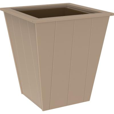 "Elite Planter 26"" Weatherwood"