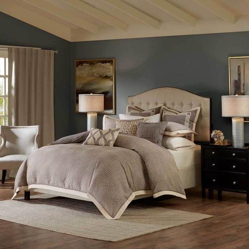 Jla Home - Shades of Grey Queen Comforter Set