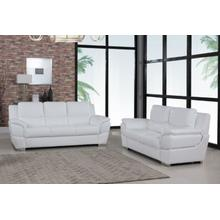 View Product - 4572 - White Sofa Love