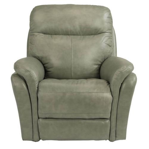 Zoey Power Gliding Recliner with Power Headrest - Leather Fenwick - 360-01 Leather/Vinyl