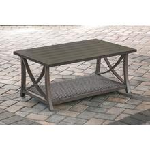 Agio Fairfield Rectangle Patio Coffee Table