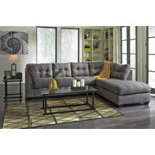 See Details - Benchcraft RAF Chaise Sectional - Gray