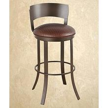 Bailey (MB) - Armless Swivel Barstool