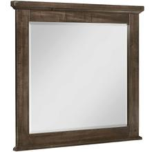 See Details - Cool Rustic Mink Solid Maple Mirror