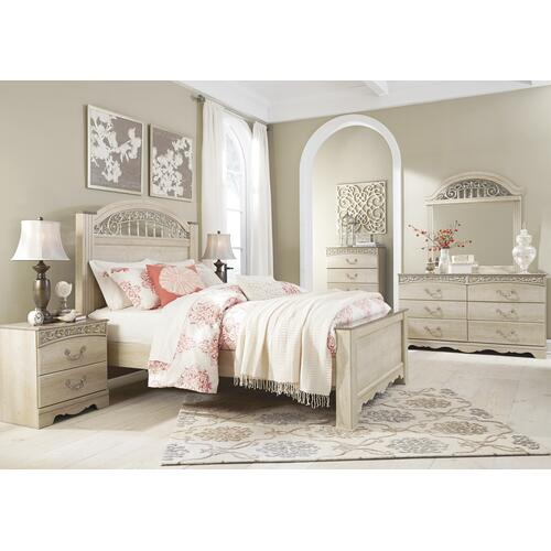 Catalina - Antique White 6 Piece Bedroom Set