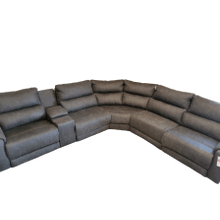 View Product - 6 Piece Fabric Sectional- Bombshell Ink